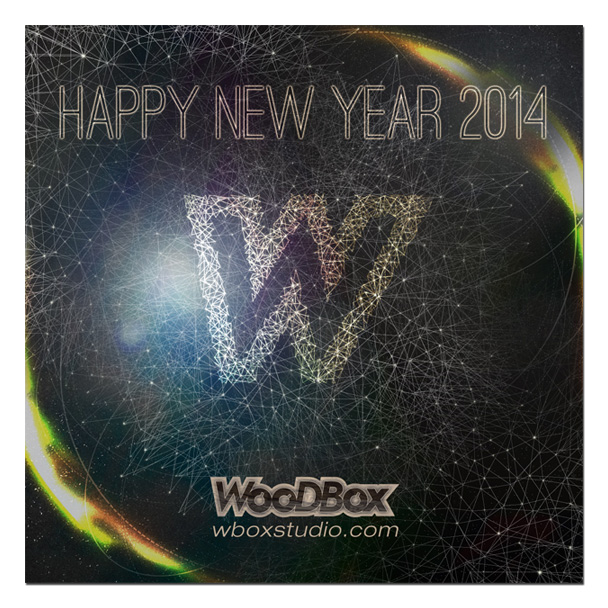 Happy new year 2014 - Studio d'enregistrement WooDBox