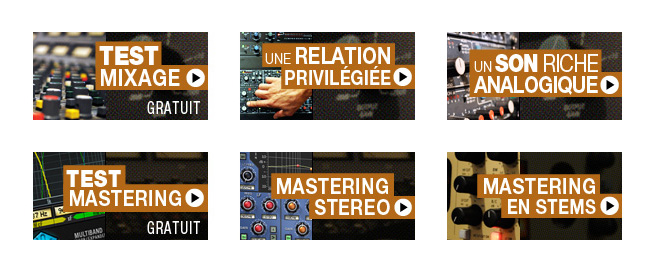 Infographies mixage et mastering