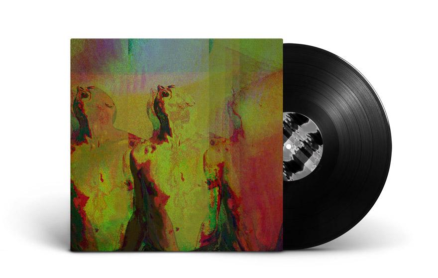 Artwork cover pour disque vinyle