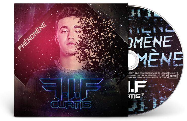 Création d'artwork cover d'album cd pour pochette carton
