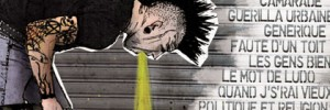 Graphisme artwork album cd punk rock