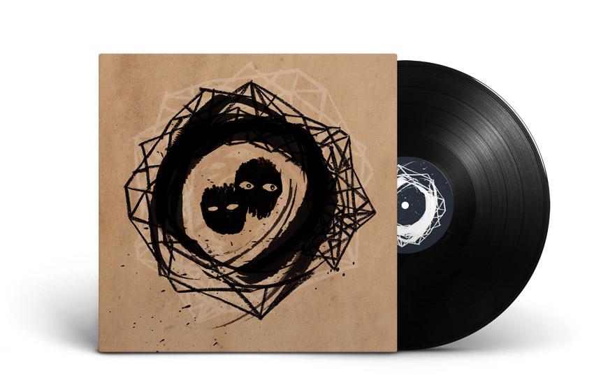 Graphisme et illustration cover vinyle