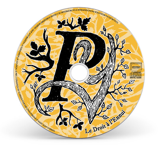 Illustration rond cd