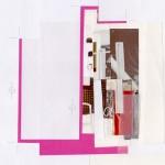 collage graphique papier