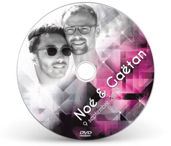 Graphisme et mise en page du DVD