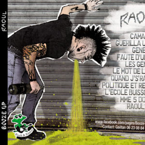 Graphisme artwork album cd punk rock