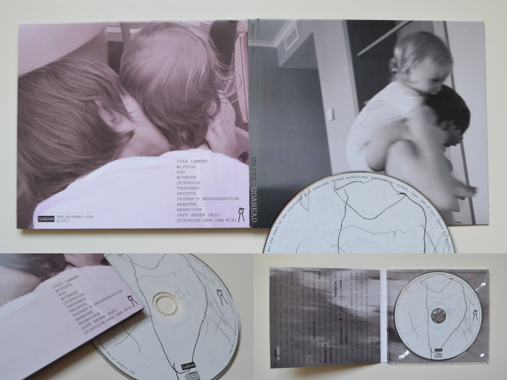 Mise en page album cd digipack