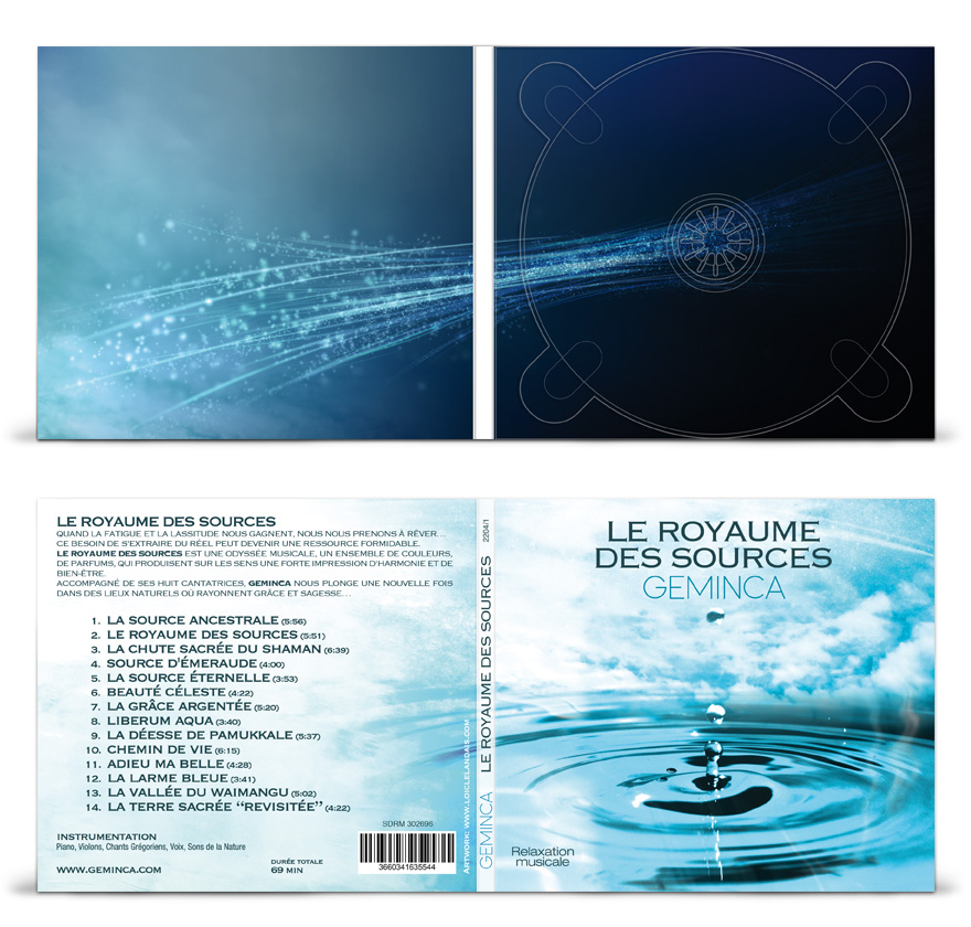 Graphisme digipack cd 2 volets