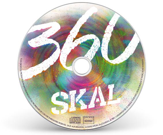 Graphisme rond cd