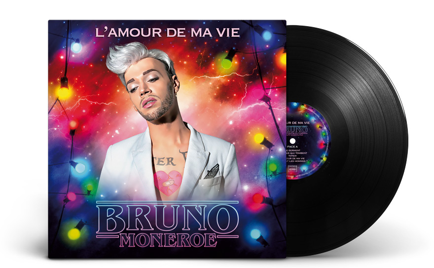 Graphisme version album vinyle