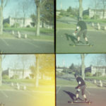 photo lomo longboard
