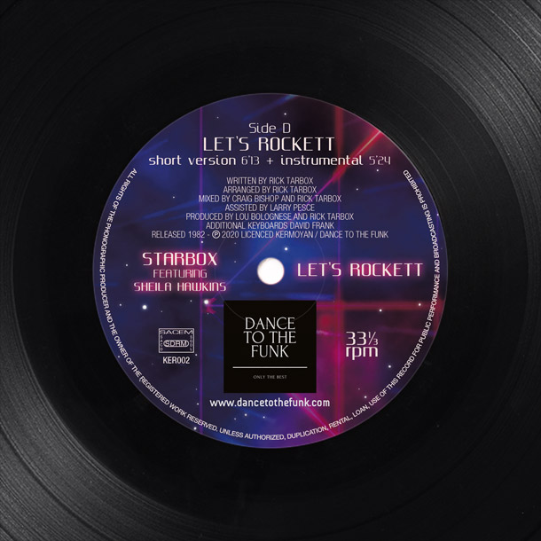 Visuel disque vinyle 2 label face D