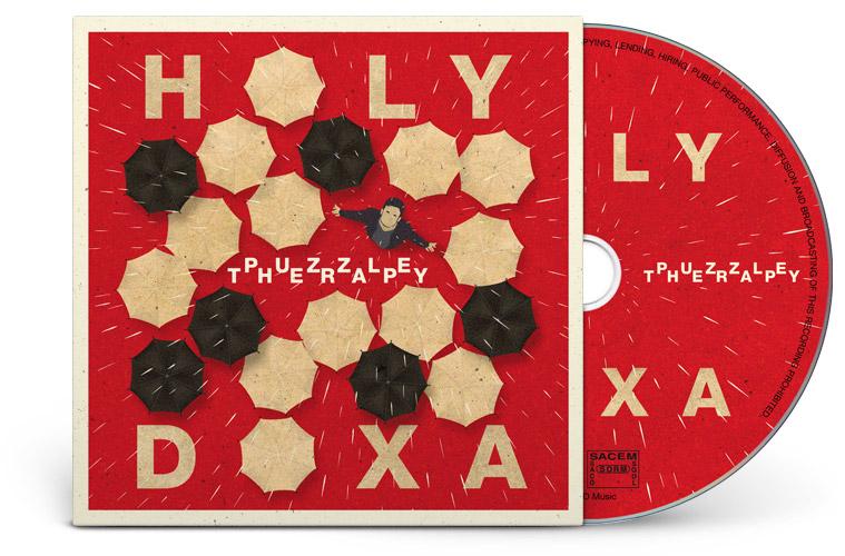 Graphisme pochette CD promo