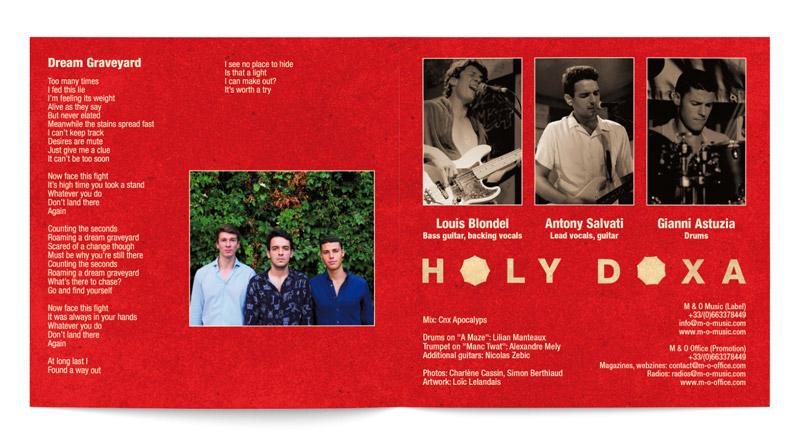 Extrait mise en page cd booklet